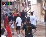 Toros de la calle Sant Roc 2009 - La Vilavella (Castellón) [Toros FJGNtv]