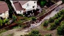 CALIFORNIA RAIN (Rain continues to lash California causing flooding and mudslides)