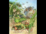 Darrell House narrating his illustrated picture book, Miller the Green Caterpillar