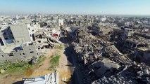 Drone flight over Gaza - Remembering Shujayea