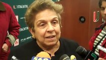 UM President Donna Shalala on hiring of Al Golden as coach