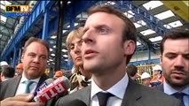 """Dette grecque: """"Une semaine historique"""", selon Macron"""