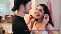 ♥ Husband Does My Makeup TAG | Rachel Talbott ♥