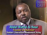 'Global Jihad fueling genocide in Darfur, fuels Muslim conquest vs Israel,' Sudanese opp leader