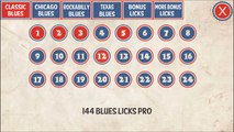 144 Blues Guitar Licks: Pro Android App for Guitarists