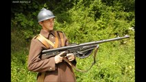 WW1 Light machine gun: French Chauchat (Sho-Sho)