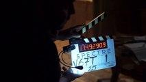 Sam Mendes on the set of SPECTRE # 2 (James Bond Movie - 2015)