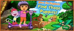 Dora The Explorer Find Those Puppies - Dora Games for Children