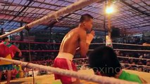 Lethwei Burmese Boxing [HD] - Soe Lin Oo vs. Jingreedtong (1): Myanmar Letwhay vs. Muay Thai 02/2015