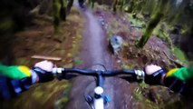 Mountain bike session in Ballyhoura mountain trails.With Gopro Hero 2014 Entry camera