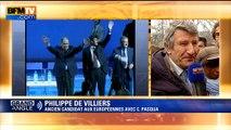 """Décès de Charles Pasqua: """"Il n'était pas sensible à l'opinion"""", dit Philippe de Villiers"""