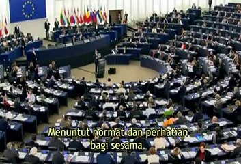Jordanian King Abdullah Gets A Standing Ovation At European Parliament Telling WHAT IT MEANS TO BE A MUSLIM