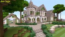 Minecraft Xbox 360: Big Traditional Mansion! (House Tours of Los Dangeles: Ep.3)