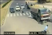 CCTV Camera Caught Dangerous Traffic Accidents in India - Breathtaking