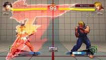 Ultra Street Fighter IV battle: Makoto vs Ken