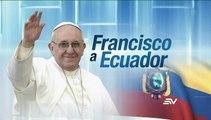 Papa Francisco se despide del Vaticano mientras Ecuador alista su visita