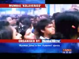 Dhanush joins 'Kolaveri' flash mob in Mumbai.mp4
