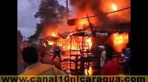 8 tramos toman fuego en mercado de Zonas Francas