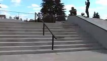 Deezle Double 360 flip 10 stair