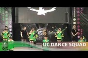 UC Dance Squad NCC 2010 - enhanced audio