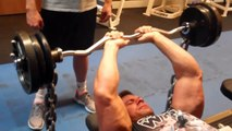 Best Triceps Exercises  Laying Triceps Extensions into Close Grip Press