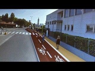Rimini diventa ciclabile, in progetto un'attraversamento galleggiante modello Amsterdam