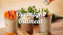 Resep Sarapan Overnight Oatmeal (Overnight Oatmeal Recipe Video)