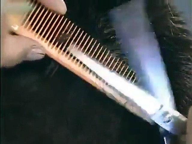 Dạy Cắt tóc nam Hướng dẫn cắt kiểu đinh vuông dùng kéo