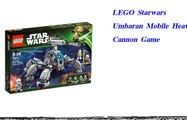 LEGO Starwars Umbaran Mobile Heavy Cannon Game