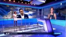 Référendum grec : manifestation en faveur du oui