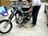 1973 COOP'S CHOP SHOP HONDA 350 CHOPPER! BOBBER! RAT ROD BOBBER! AWSOME BIKE!