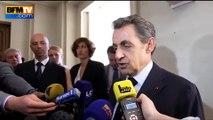 Nicolas sarkozy rend hommage à Charles Pasqua