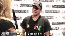 Matt Damon Interview Bourne Identity The Informant  Invictus