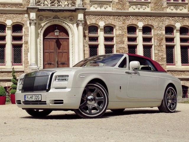 Essai Rolls Royce Phantom Drophead Coupé