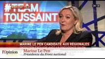 Marine Le Pen en Nord-Pas-de-Calais Picardie: le tremplin ou le tobogan