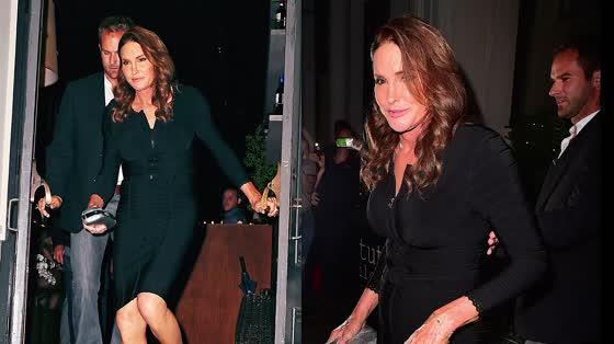 Caitlyn Jenner Flawless In Bodycon Dress For New York Dinner