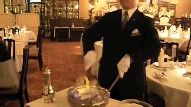 Flaming Drunken Shrimp