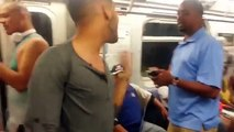 """""""LGBT"""" Hate Fight/Crime on a New York Subway after the  pride parade."""