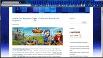 Empire Four Kingdoms Cheats Triche pour Empire Four Kingdoms