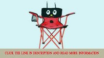 Kids Folding Lady Bug Chair Child Size Foldable Small Lawn Chair with Carry Bag