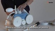 Le robot de piscine Polaris et ses pièces détachées et accessoires.