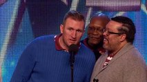 Old Men Grooving bust a move and maybe their backs Britains Got Talent 2015