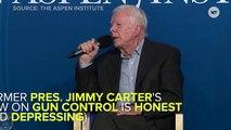 Jimmy Carter's Gun Control Stance Refreshingly Honest, Super Depressing