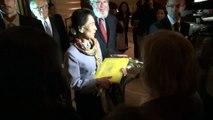 Accueil de Madame Aung San Suu Kyi à Genève (13 juin 2012)