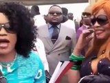 Sapologie congolaise- 1er jour à Brazzaville(Congo) du sapeur  Strasbourgeois Arme Lourde