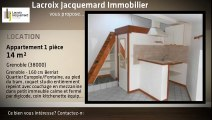 Location - appartement - Grenoble - 14m²