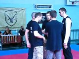 KNIFE FIGHT. Military Horting. National professionally applied sport of Ukraine. Club Fratria Fortis