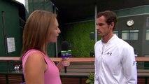 Andy Murray interviews for the job of Wimbledon champion   Funny   Wimbledon 2015