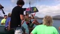 Nick Jacobsen bat le record du saut le plus haut en kite-surf à l'île Necker