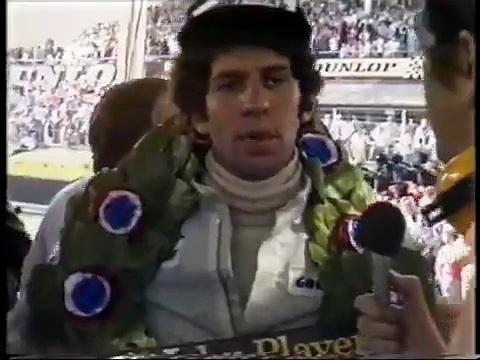Formula One Jody Scheckter interview 1974